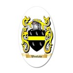Westlake 35x21 Oval Wall Decal