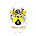 Westerman Oval Car Magnet