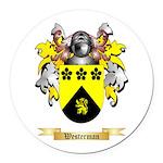 Westerman Round Car Magnet