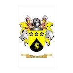 Westerman Sticker (Rectangle 50 pk)