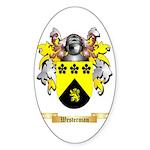 Westerman Sticker (Oval 50 pk)