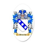 Westerby Oval Car Magnet