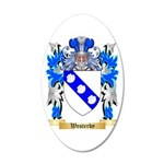 Westerby 20x12 Oval Wall Decal