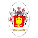 Westbrook Sticker (Oval 50 pk)