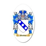 Westbay 35x21 Oval Wall Decal