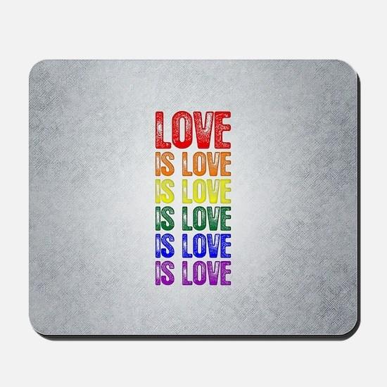 Love is Love is Love Mousepad