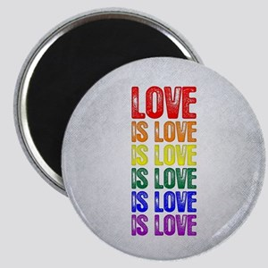 Love is Love is Love Magnet