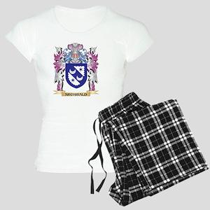 Archibald Coat of Arms (Fam Women's Light Pajamas