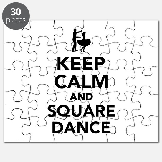Keep calm and square dance Puzzle
