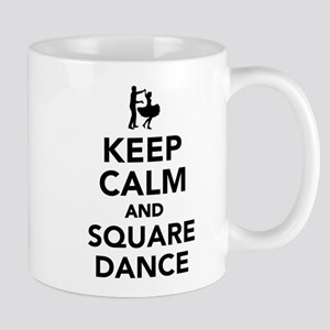 Keep calm and square dance Mug