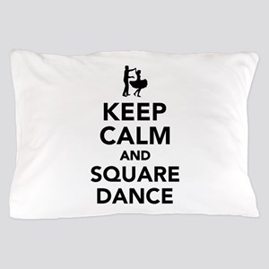 Keep calm and square dance Pillow Case