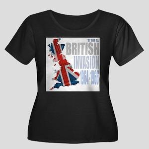 british-invasion Plus Size T-Shirt