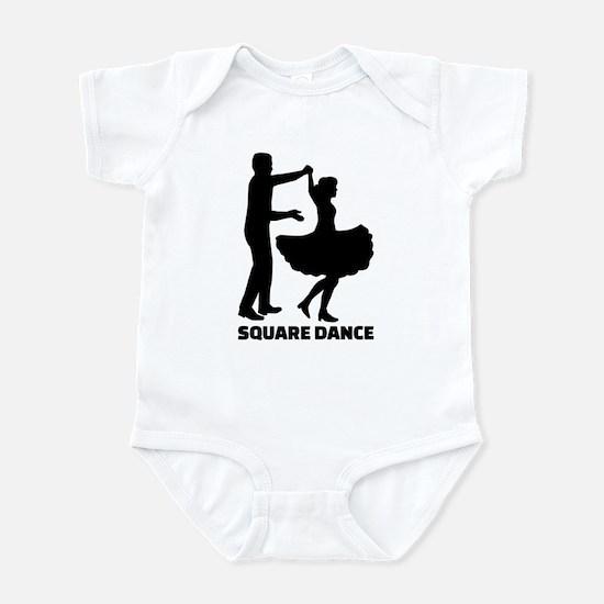 Square dance Infant Bodysuit