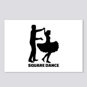 Square dance Postcards (Package of 8)