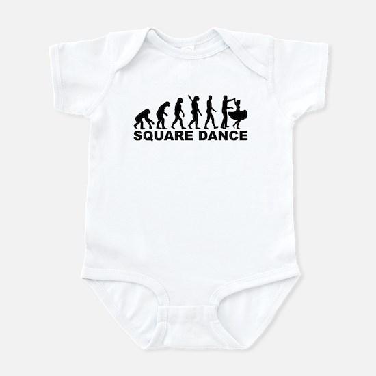 Evolution square dance Infant Bodysuit