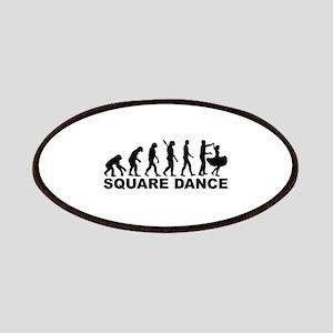 Evolution square dance Patch