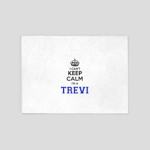 I can't keep calm Im TREVI 5'x7'Area Rug