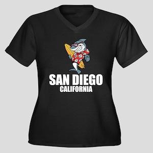 San Diego, California Plus Size T-Shirt