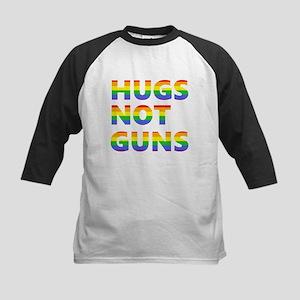Hugs not Guns Baseball Jersey