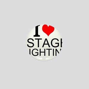 I Love Stage Lighting Mini Button
