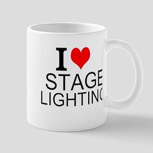 I Love Stage Lighting Mugs