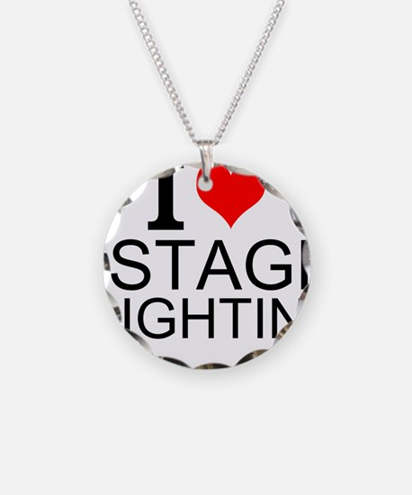 I Love Stage Lighting Necklace