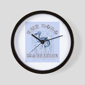 The dodo Wall Clock