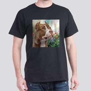 Pit Bull Painting T-Shirt