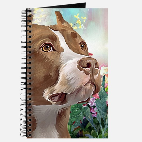 Pit Bull Painting Journal