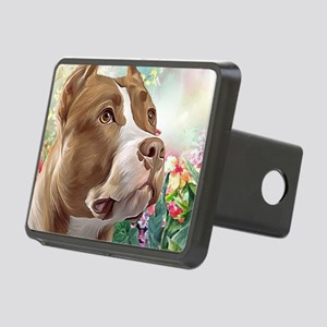 Pit Bull Painting Hitch Cover