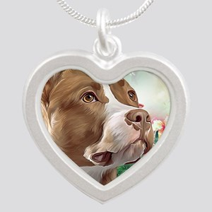 Pit Bull Painting Necklaces