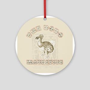 The dodo 2 Ornament (Round)