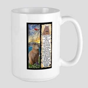 Capybara FUN Property Laws & Rules Mugs