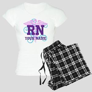 RN swirl with personalized name Pajamas
