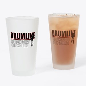 BPHS Drumline Drinking Glass