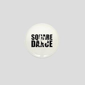 Square dance Mini Button