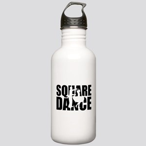 Square dance Stainless Water Bottle 1.0L