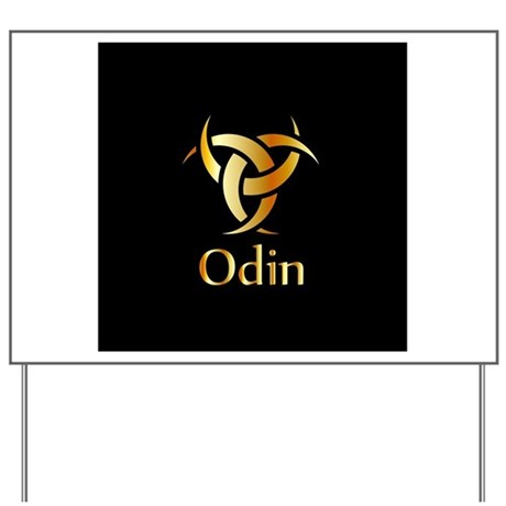 Odin The Graphic Is A Symbol Of The Hor Yard Sign By Admincp110467062