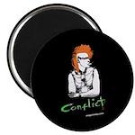 """Conflict"" Magnet"