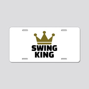 Swing king Aluminum License Plate