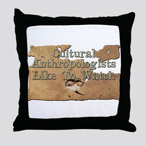 Anthro Voyeur Throw Pillow