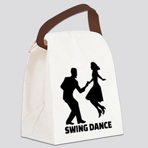 Swing dance Canvas Lunch Bag