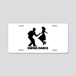 Swing dance Aluminum License Plate