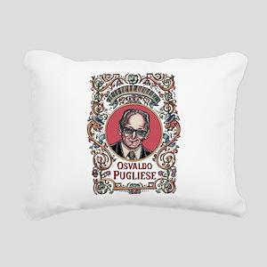 Osvaldo Pugliese Rectangular Canvas Pillow