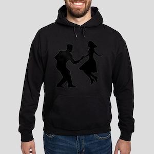 Swing dancing Hoodie (dark)