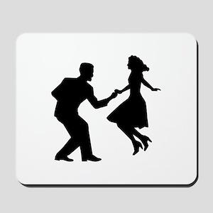 Swing dancing Mousepad