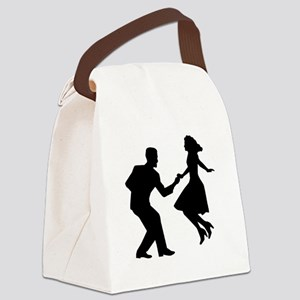 Swing dancing Canvas Lunch Bag