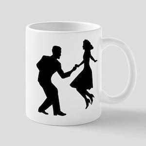 Swing dancing Mug