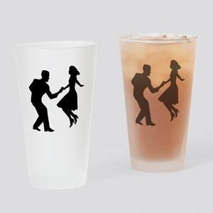 Swing dancing Drinking Glass