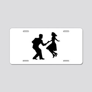 Swing dancing Aluminum License Plate